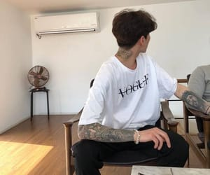 tattoo, boy, and ulzzang image