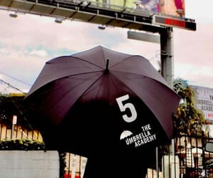 the umbrella academy, number five, and ☂ image