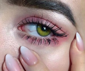nails, eye, and eyes image