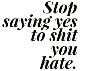 hate, no, and quotes image