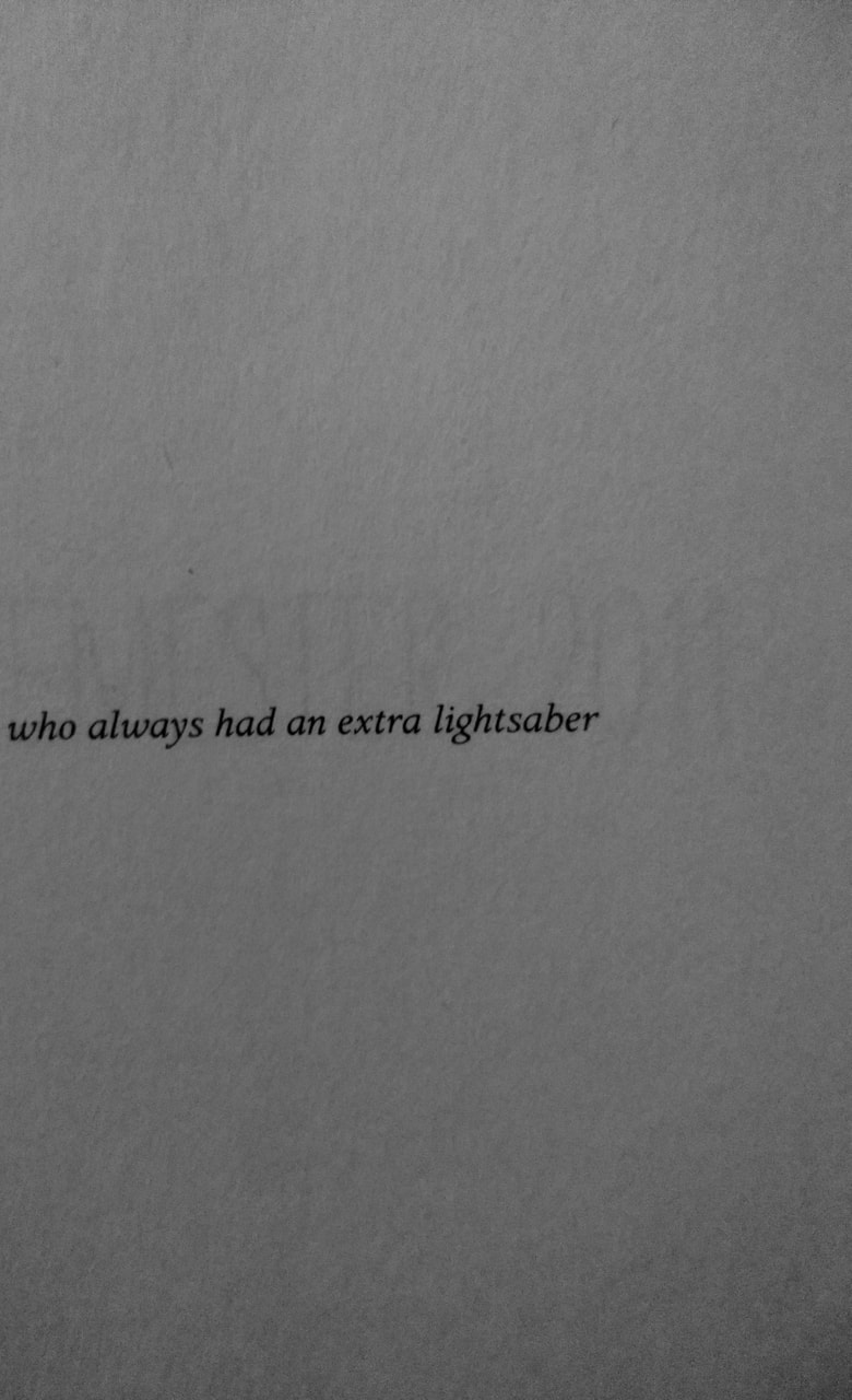 book, inspirational, and lightsaber image