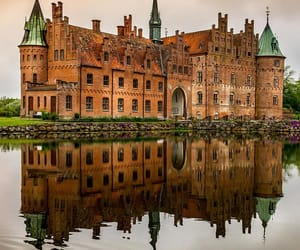 castle, denmark, and travel image