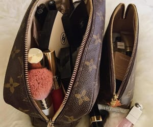 Louis Vuitton, makeup, and luxury image