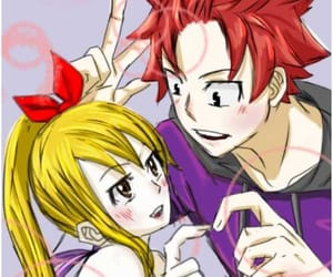 Lucy, natsu dragneel, and fairy tail image