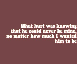 him, hurt, and quote image