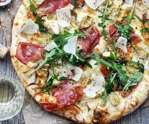 food, pepperoni, and italian image