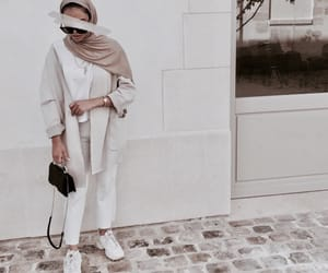 autumn, modest, and beige image