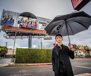 the umbrella academy, number five, and aidan gallagher image