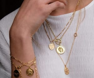 jewelry, gold, and style image
