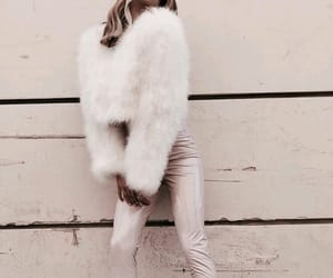 chic, fashion, and fluffy image