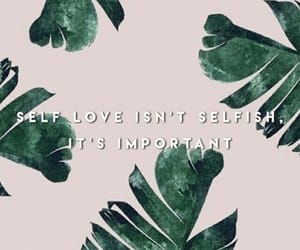 quote, set, and self love image