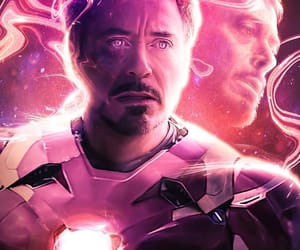 art, Avengers, and iron man image