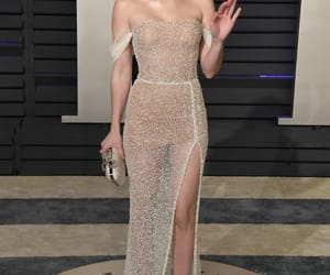 actress, emma roberts, and dress image
