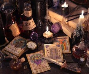 crystal, paganism, and pagan image