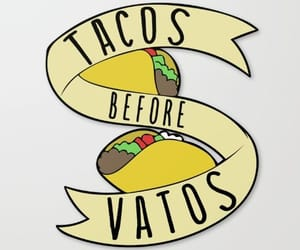 sticker, tacos, and pegatinas image