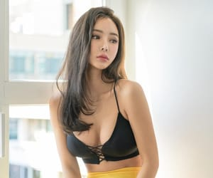 asian, beautiful, and korean image