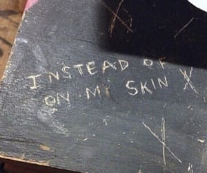 skin, grunge, and sad image