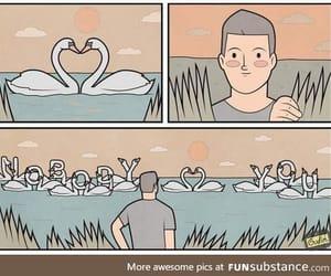 comic, dark humour, and funny image