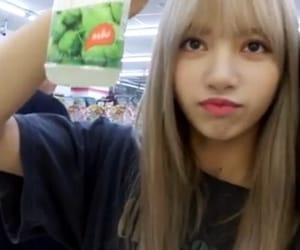 lisa, low quality, and blackpink image