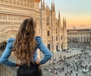architecture, italy, and duomo image