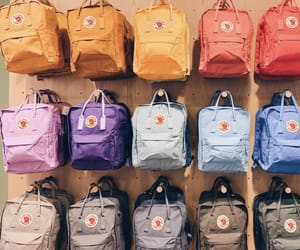 backpack, color, and fjallraven kanken image