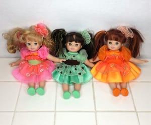 baby girl, kitsch, and princess image