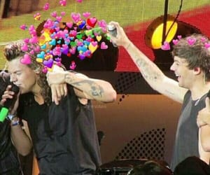 hearts, louis, and larry image