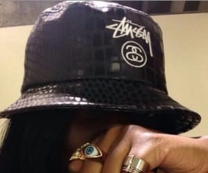 hat and bucket hat image