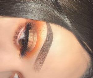 beauty, colorful, and eyelashes image