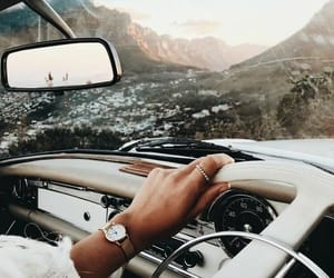 travel, car, and view image