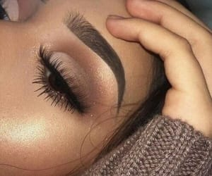 beauty, cute, and brow image