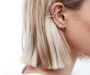 acessories, earrings, and girl image