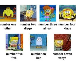 spongebob and the umbrella academy image
