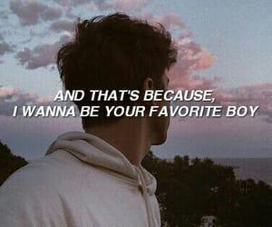 boy, aesthetic, and Lyrics image