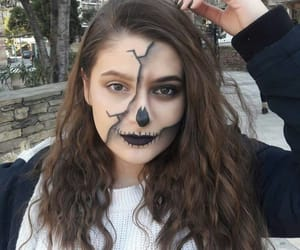 carnival, Halloween, and makeup image