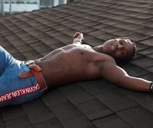Calvin Klein, asap rocky, and rooftop image