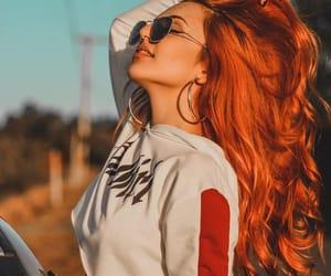 ginger, girl, and tumblr image