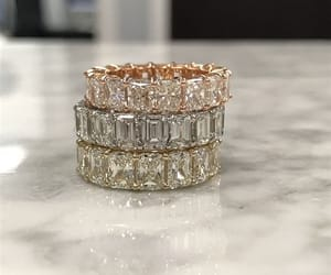 diamond, accessories, and rings image