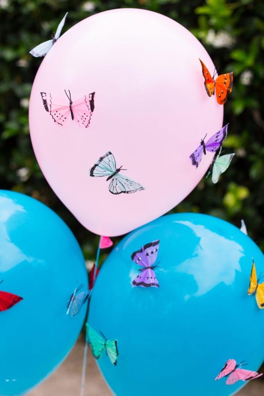 Butterfly Balloons Uploaded By Cloud9 On We Heart It