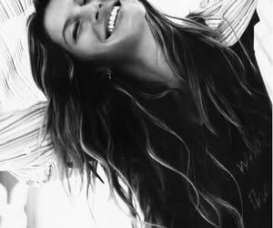 girl, smile, and Gisele Bundchen image