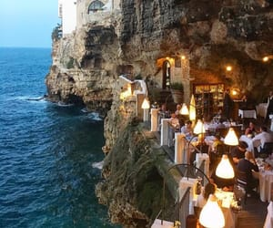travel, sea, and italy image