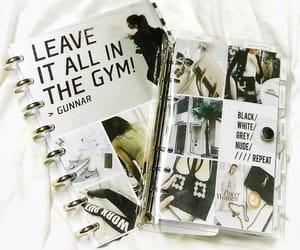 agenda, diy, and fitness image