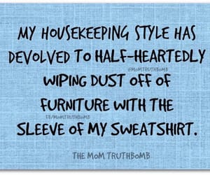 cleaning, funny, and humor image
