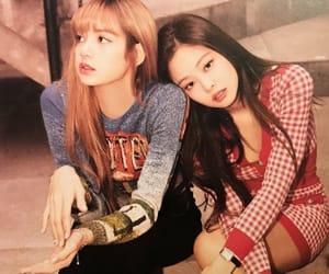 kpop, jennie kim, and lisa image