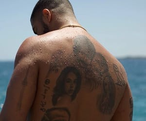 Drake and tattoo image