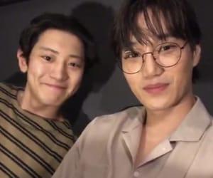 kai, chanyeol, and exo image