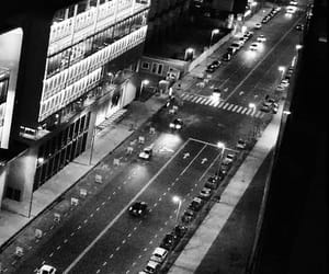 black, black and white, and cars image