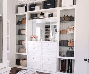 interior, style, and closet image