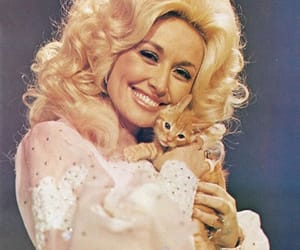 beautiful, cat, and dolly parton image