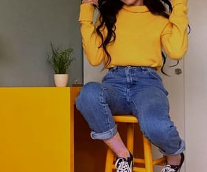 yellow, aesthetic, and style image